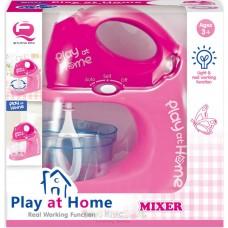 Детский игрушечный функциональный миксер со съемной чашей и съемными насадками Play at home арт. 26139