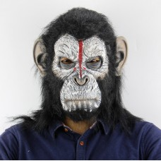 Латексная маска Гориллы - Хэллоуин