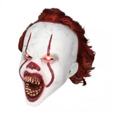 """Светящаяся маска Клоуна Пеннивайз """"Оно"""" (IT) Стивена Кинга"""