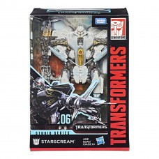 Трансформер десептикон Старскрим - Starscream, Voyager Class, Studio Series, Takara Tomy, Hasbro