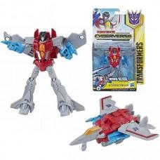 Игровой Робот Трансформер Старскрим Воин Кибервселенная - Cyberverse, Warrior Class Wing Slice Starscream Hasbro