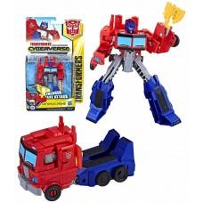 Игровой Робот Трансформер Оптимус Прайм Воин Кибервселенная 14см - Optimus Prime Cyberverse Warrior Class Hasbro