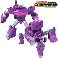 Робот-трансформер Шоквейв Кибервселенная - Shockwave Hasbro Cyberverse, Ultra Class, Shock Blast