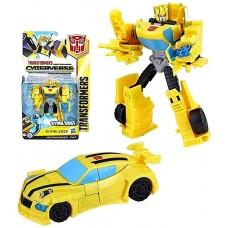 Робот-трансформер, Бамблби, Кибервселенная, 14 см - Transformer, Hasbro, Bumblebee, Cyberverse, Sting Shot