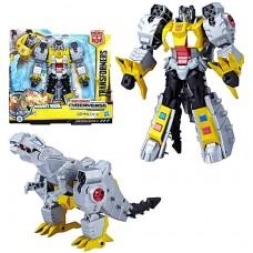Робот-трансформер, Хасбро, Гримлок, Кибервселенная, 17 см - Transformer, Grimlock, Cyberverse
