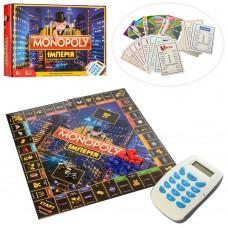 """Настольная интеллектуальная игра """"Монополия"""" электронная с 8 лет, (для 2-6 человек) арт. 3801"""