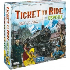 "Настольная игра ""Ticket to Ride: Европа"" арт. 1032"
