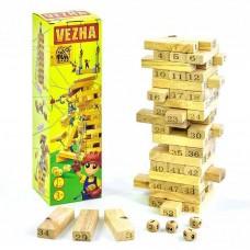 Деревянная настольная игра Vega Башня арт. 7358 49757-06 lvt-7358