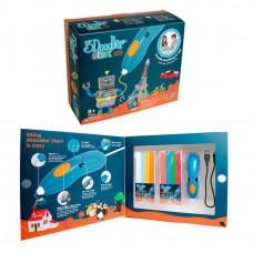 *3D-ручка 3Doodler Start, для детского творчества - КРЕАТИВ (48 полосок по 8 цветов)