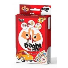 Настольная Развивающая игра на скорость и внимание для 2-8 игроков Doobl Image - 56 прямоугольных карт в коробке