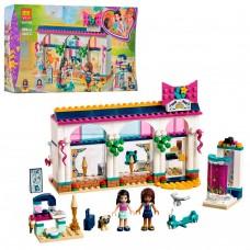 Конструктор для девочек Магазин аксессуаров Андреа: 298 деталей, швейная машинка, 2 мини-куклы - Bela Friend