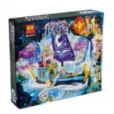 """*Конструктор для девочек Bela Fairy (аналог Lego Elves) """"Корабль Наиды"""" в восточном стиле, размер 26х15х7 см арт. 10411"""