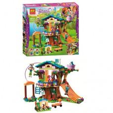 Детский Развивающий Конструктор для девочек Bela Friends Игровая площадка на дереве, 356 деталей арт. 10854 51604-06 lvt-10854