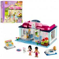 Детский Развивающий Конструктор для девочек Bela Friends Салон для питомцев Груминг центр, 241 дет. арт. 10171