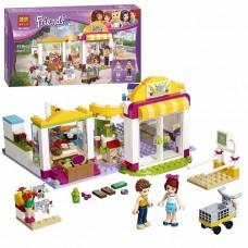 Детский Развивающий Конструктор для девочек Bela Friends Супермаркет Хартлейк Сити, 318 деталей арт. 10494 49487-06 lvt-10494