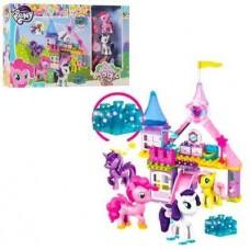 Конструктор светящийся для девочек с фигурками (2 лошадки) My Little Pony (пони) 59 деталей арт. 5720