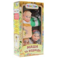 Игровой Набор из 4 кукол-перчаток для домашнего Кукольного театра - Маша и Медведь для детей и взрослых арт. 068