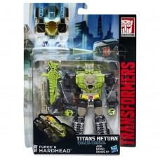 "Трансформер Фурос и Хардхэд ""Возвращение Титанов"" - Furos & HardHead, Deluxe, Hasbro, 14 см"