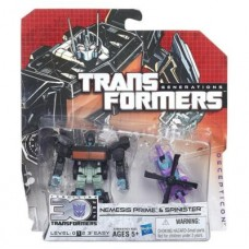 Трансформеры 2в1 Немезис Прайм и Спинистер от Hasbro