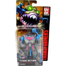 """Трансформер-шарктикон Гноу, """"Поколения"""" - Gnaw, Generations, Titans Return, Gnaw, Hasbro"""
