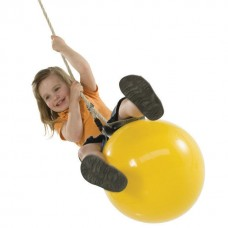 Подвесные Качели-мяч для детских спортивных комплексов дома и на улице, надувные, с насосом D=60см 61491