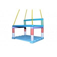 Подвесные качели с разноцветными буковыми перекладинами для спортивного комплекса, для детей до 3 лет 61362