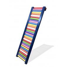 Детская деревянная Роликовая доска для дома и спортзала, нагрузка до 80 кг, разноцветная 42х150см 61533