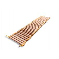 Детская деревянная Массажная дорожка для детей от 2 лет, до 70 кг, цвет: натуральное дерево 145х33х2.5см 61634