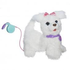 Интерактивная игрушка ходячий Щенок ГоГо на поводке (звуки, движения) FurReal Friends Go Go Hasbro