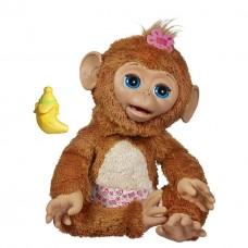 Детская Интерактивная игрушка Смешливая обезьянка (шевелит лапками, пьет из бутылочки) FurReal Friends Hasbro