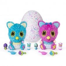 Детская Интерактивная игрушка Чубастик в яйце Хетчималс с 5 аксессуарами - HatchiBabies Spin Master Hatchimals