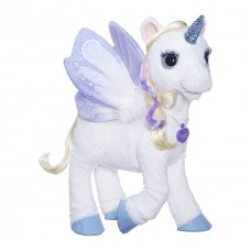 Детская Интерактивная игрушка Лошадка-Единорог СтарЛили с ягодой клубники - Starlily FurReal Friends Hasbro