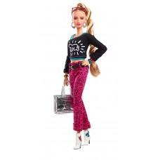 Игровая Кукла Барби для девочек Кит Харинг в графическом наряде с принтом - Signature X Keith Haring Barbie Doll