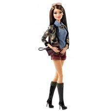 Игровая Кукла Барби для девочек коллекция Стиль Модница Ракель с темными волосами, шарнирная - Barbie Style Doll
