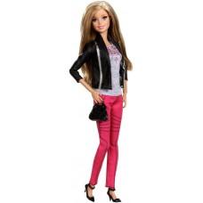 Игровая Кукла Барби для девочек коллекция Стиль в городском уличном наряде 2014 - Casual Sleek Barbie Style Doll