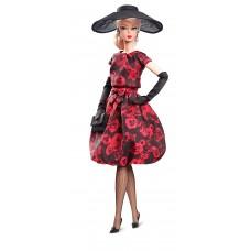 Игровая Кукла Барби силкстоун элегантное розовое платье для коктейля - Barbie Elegant Rose Cocktail Dress Doll