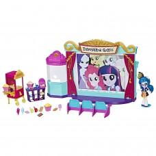 Игровой набор Джунипер Монтаж Кинотеатр Моя Маленькая Пони - My Little Pony Equestria Girls Minis Movie Theatre