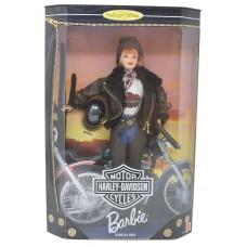 Коллекционная Кукла Барби 1998 года Харлей Девидсон Barbie Collector Edition Harley Davidson Motor Cycles Red Head