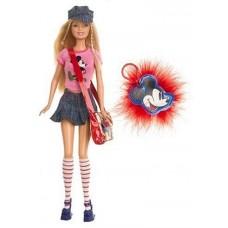 Коллекционная Кукла Барби Микки Маус в розовой футболке с сумкой 2004 года - Disney Mickey Mouse Barbie