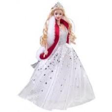 Коллекционная Кукла Барби Праздничная в серебристом бальном платье 2001 года - Barbie Holiday Celebration