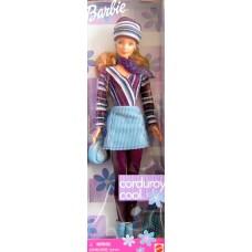Коллекционная Кукла Барби Вельвет в шапочке 1999 года - Barbie corduroy cool