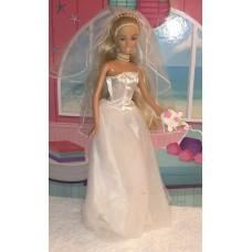 Коллекционная Свадебная Кукла Барби Невеста 2004 года - Wedding Day Barbie Collector Edition Doll Mattel