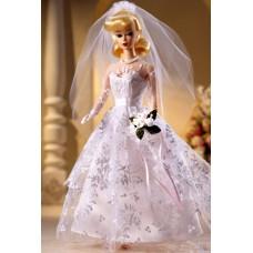 Коллекционная Свадебная Кукла Барби Невеста Блондинка с букетом 1960 года - Wedding Day Barbie Collector Edition
