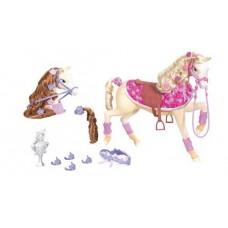 Коллекционный Игровой Набор Конюшни Барби - Лошади с аксессуарами 2007 года - Barbie Horse Stable Styles