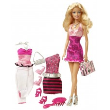 Кукла Барби Блондинка Модница Модный Гардероб - BARBIE FASHIONISTAS