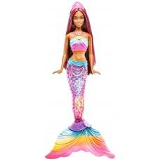 Кукла Барби Яркие Огоньки Брюнетка - Barbie Rainbow Lights Mermaid
