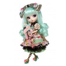 Кукла Коллекционная Пуллип Мятная Алиса в Саду с кроликом и аксессуарами, 31см - Pullip Mint Alice du Jardin
