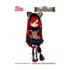 Кукла Коллекционная шарнирная Пуллип Чеширская Кошечка мир Стимпанк, 31 см - Pullip Cheshire Cat Steampunk World