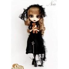 Кукла Коллекционная шарнирная Пуллип Возрождение Нуар с медвежонком на цепочке, 31 см - Pullip Noir Regeneration