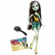 Кукла Монстер Хай Френки Штейн Мрачный Пляж перевыпуск -. Monster High Frankie Stein Gloom Beach